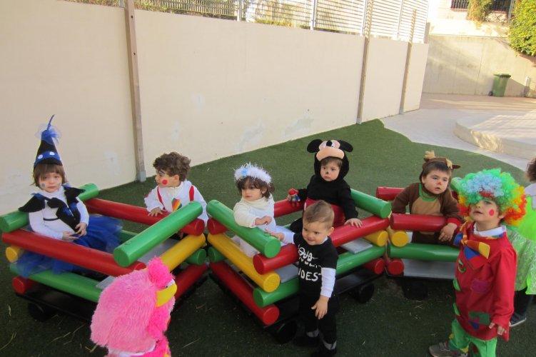Carnaval escuela infantil Rocafort