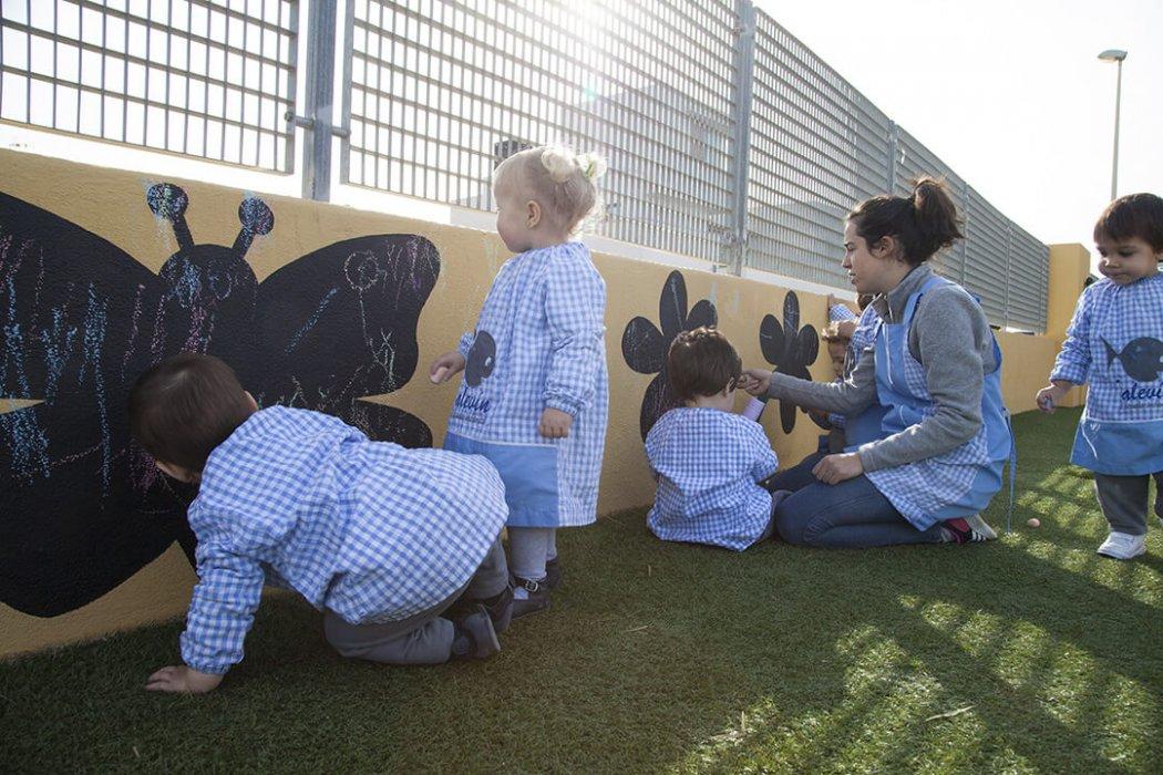 Patio de la Escuela Infantil Alevín