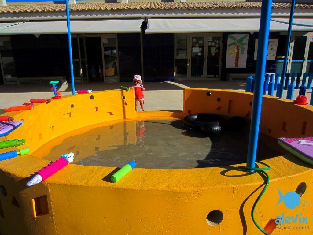 piscina niños rocafort