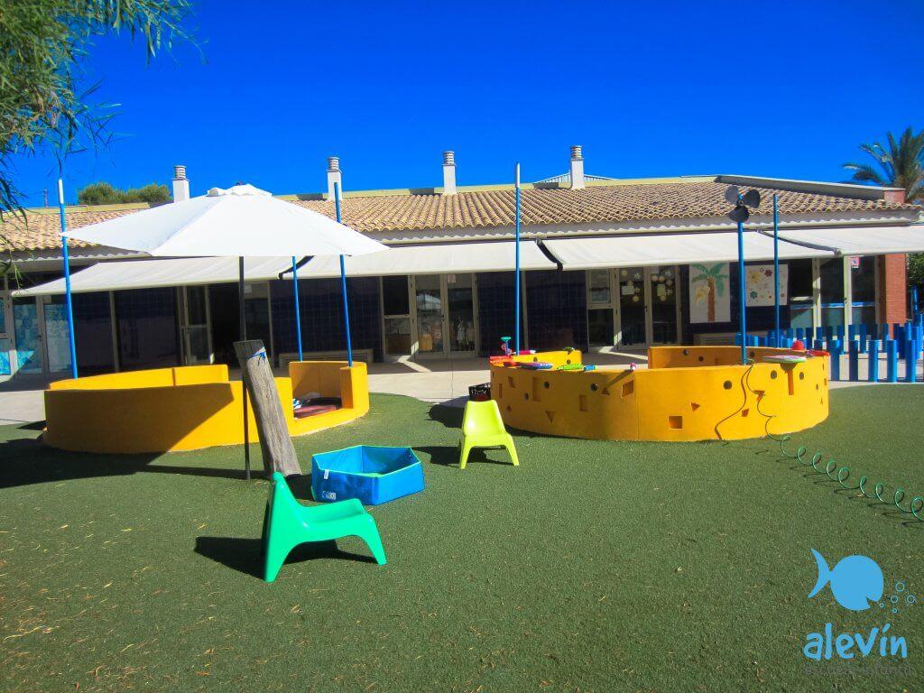 piscina escuela infantil