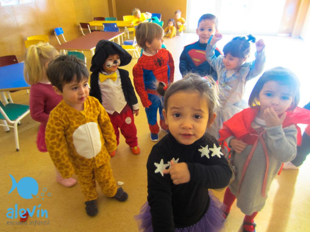 fiesta de carnaval escuela infantil rocafort