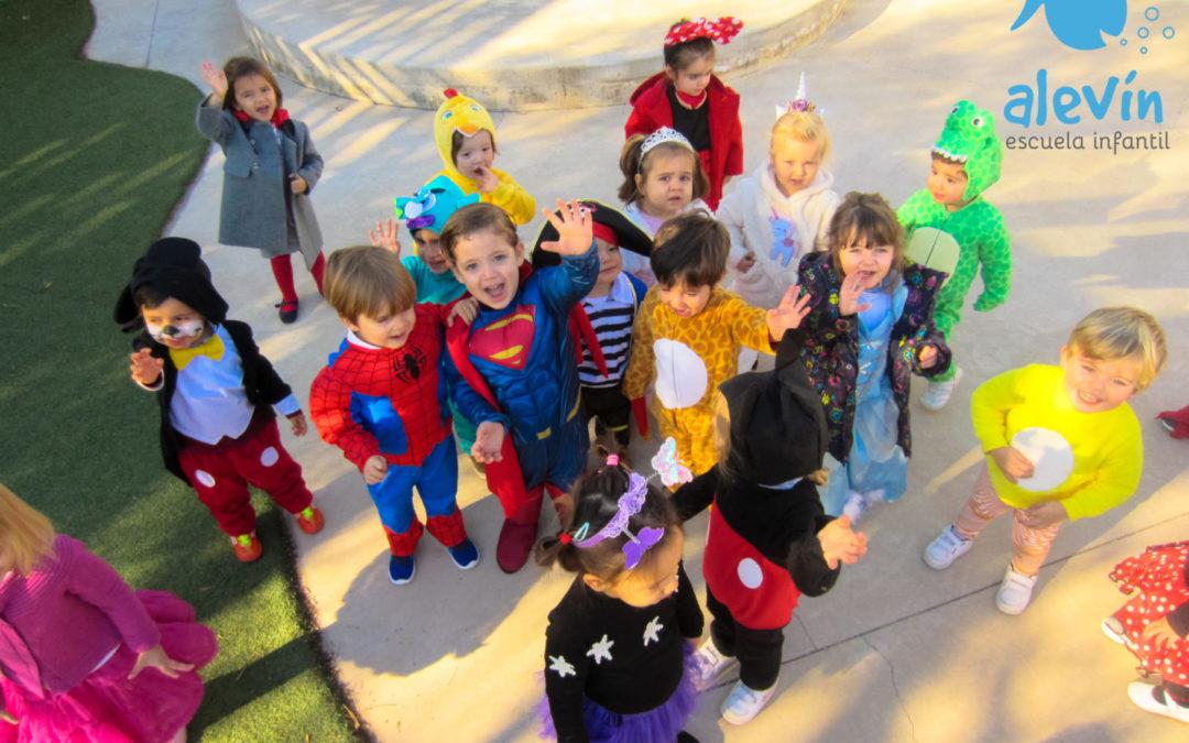 Los beneficios de disfrazarse en infantil