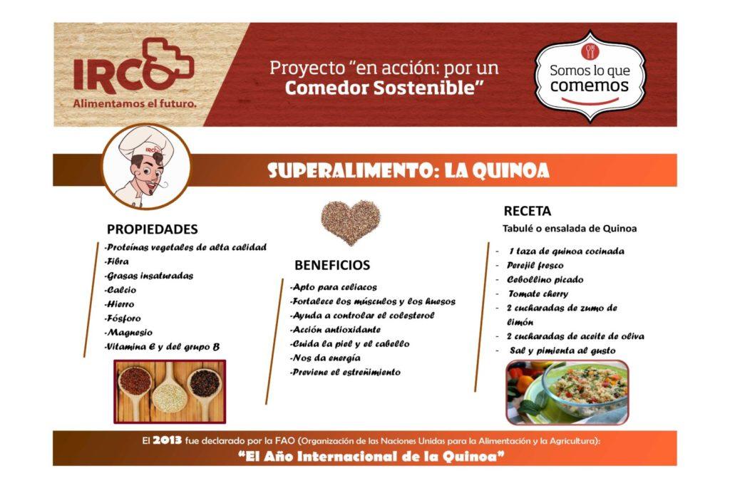 receta quinoa para niños
